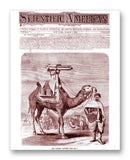 "Scientific American 03-02-1872 11"" x 14"" Mono Tone Print (Choose Your Color)"