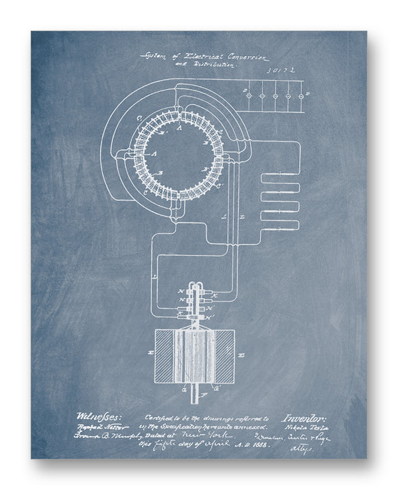 Tesla Electrical Conversion Patent 11