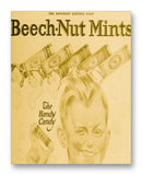 "SEP Beechnuts Ad 11"" x 14"" Mono Tone Print (Choose Your Color)"