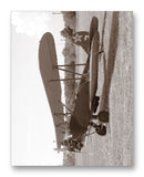 "Polikarpov PO-2 Russian Bi-Plane 11"" x 14"" Mono Tone Print (Choose Your Color)"