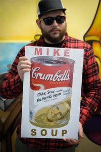 "Mike Soup 14""x22"" Artist Edition Show Print from Neckahneck"