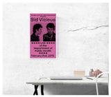 "Sid Vicious Mug Shot NYC Prison 13""x22"" Vintage Style Showprint Poster - Concert Bill - Home Nostalgia Decor Wall Art Print - Neckahneck Artist Edition"