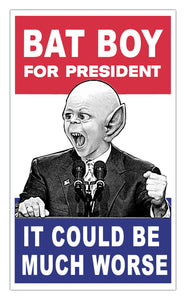 "Weekly World News Bat Boy For President  13"" x 22"" Showprint Poster - It Could Be Worse"