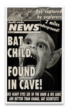 "Weekly World News Bat Boy 13"" x 22"" Showprint Poster"