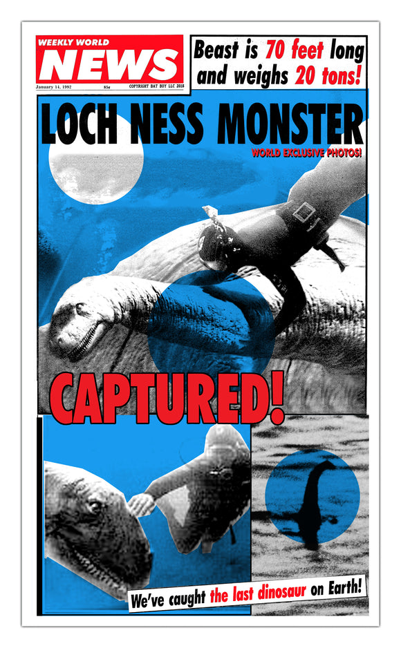 Weekly World News Loch Ness Monster 13