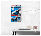 "Weekly World News Loch Ness Monster 13"" x 22"" Showprint Poster (Neckahneck Artist Edition)"