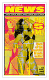 "Weekly World News Page 5 Honey 13"" x 22"" Showprint Poster (Neckahneck Artist Edition)"