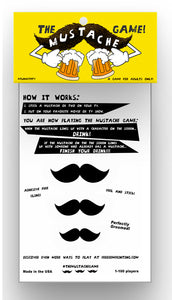 The Mustache Game (Adult Version)