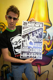 "Weekly World News Elvis Cloned 1976 13"" x 22"" Showprint Poster"