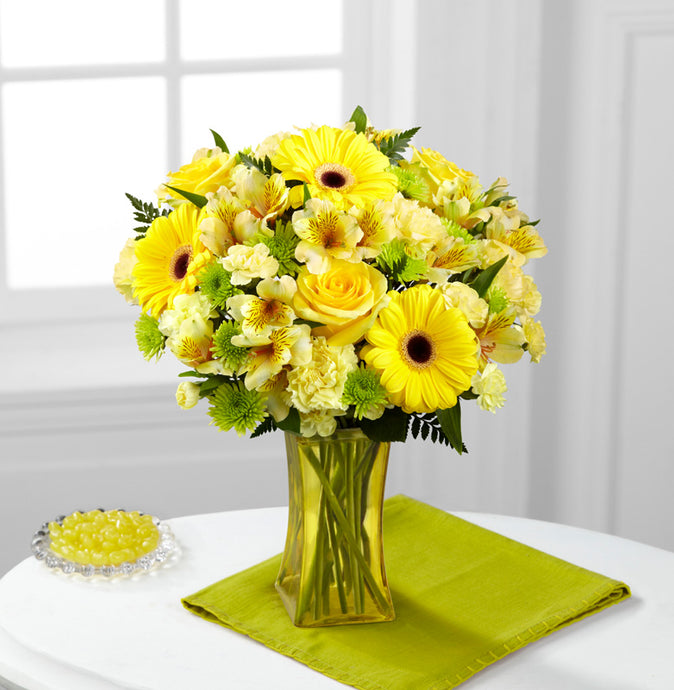 Lemon Groove Bouquet