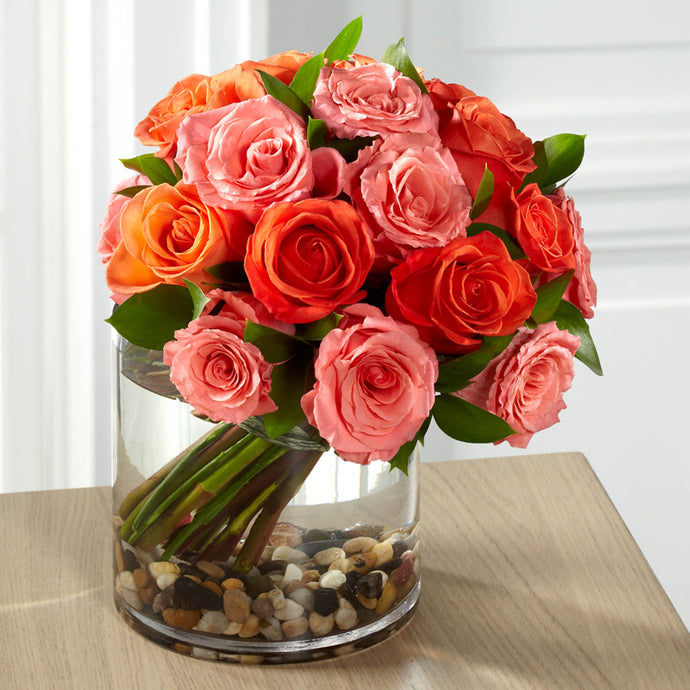 Blazing Beauty Rose Bouquet