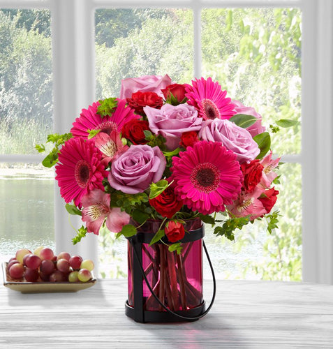 Pink Exuberance Bouquet by Better Homes and Gardens