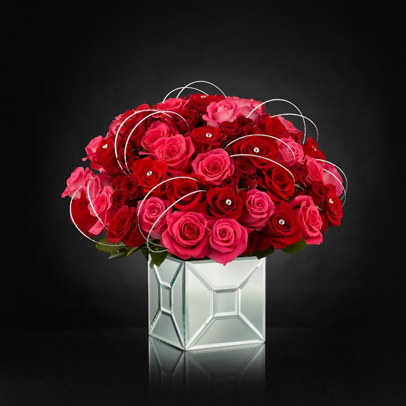 Blushing Extravagance Luxury Bouquet