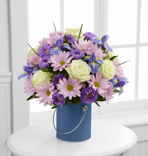 Color Your Day With Tranquility Bouquet