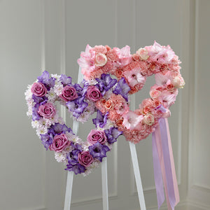 Hearts Eternal Easel