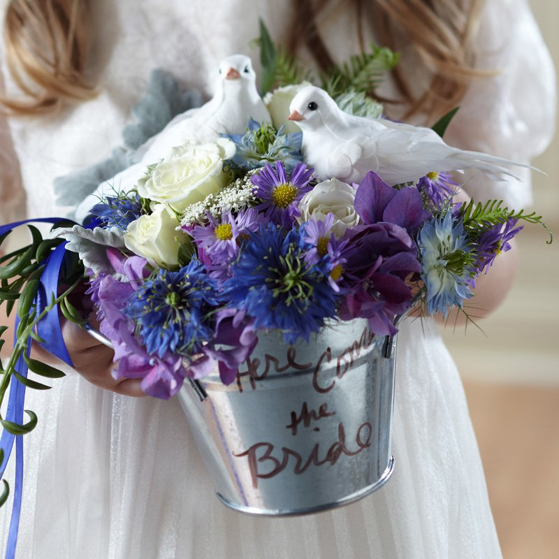 Enchantment Flower Girl Arrangement