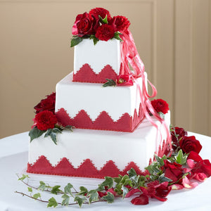 Forever Happiness Cake Décor