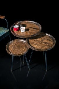 Woodline Collection - Service Table - Spring