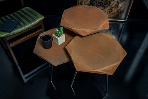Rockline Collection - Rusty Service Table - Virus