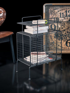 Rockline Collection - Side Table - Iron