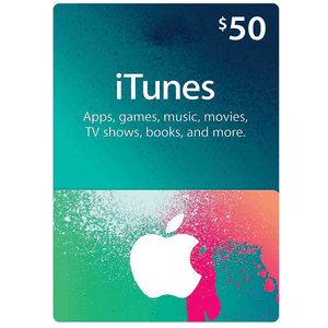 50$ Gift Card From ITUNES