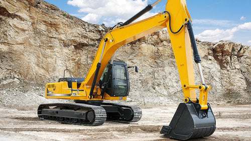 excavator, construction machine