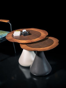 Woodline Collection - Tabke Set - Mushroom