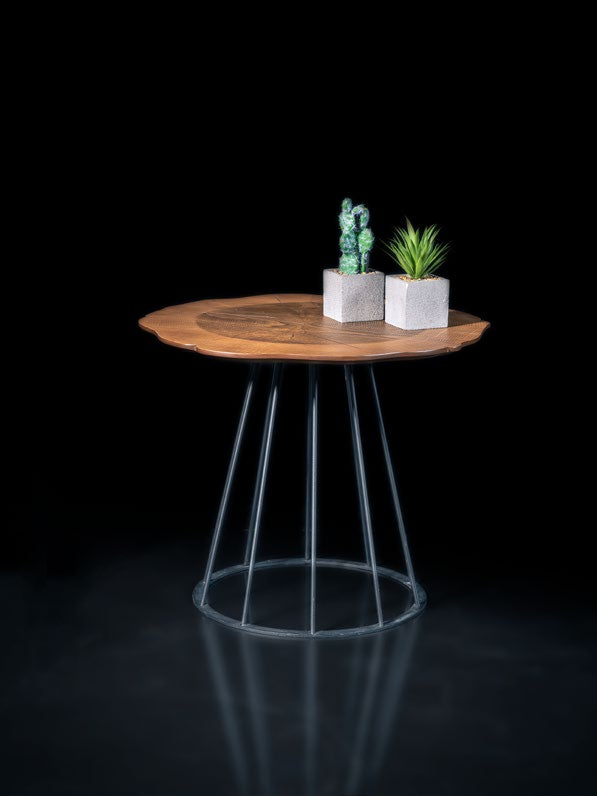Woodline Collection - Side Table - Moss