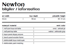 Load image into Gallery viewer, Boardline Collection - Service Table - Newton