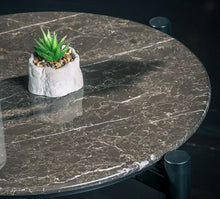 Load image into Gallery viewer, Rockline Collection - Marble Side Table - Nish