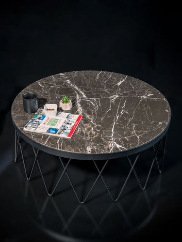Rockline Collection - Marble Center Table - Nogger