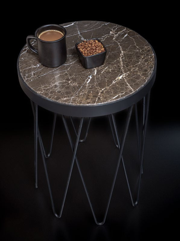 Rockline Collection - UV Side Table - Nogger