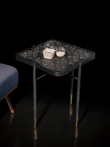 Rockline Collection - Side Table - Ottoman