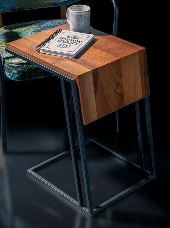 Boardline Collection - Side Table - Penna