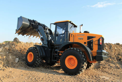wheel loader, construction machine