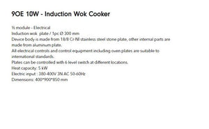 induction wok cooker