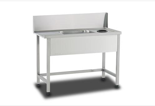 dishwasher inlet sink table