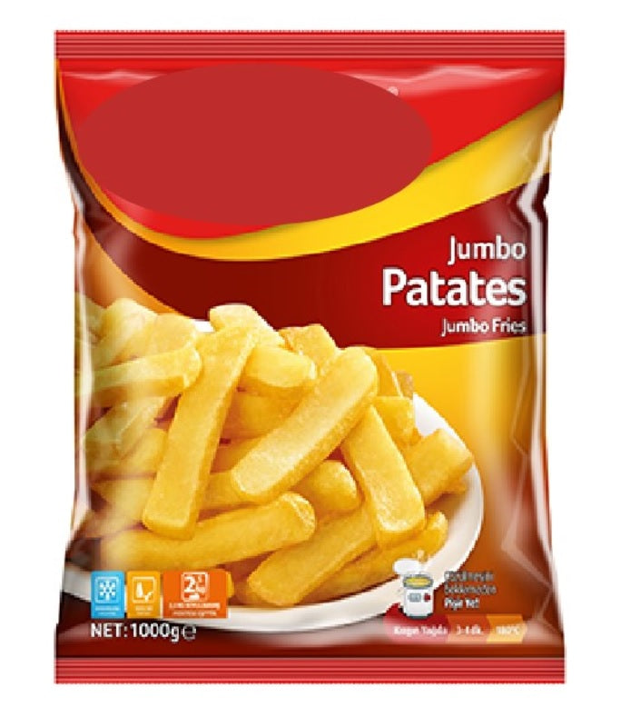 Steakhouse Potato (Jumbo) 1 kg/pack - 10 pcs/cartoon