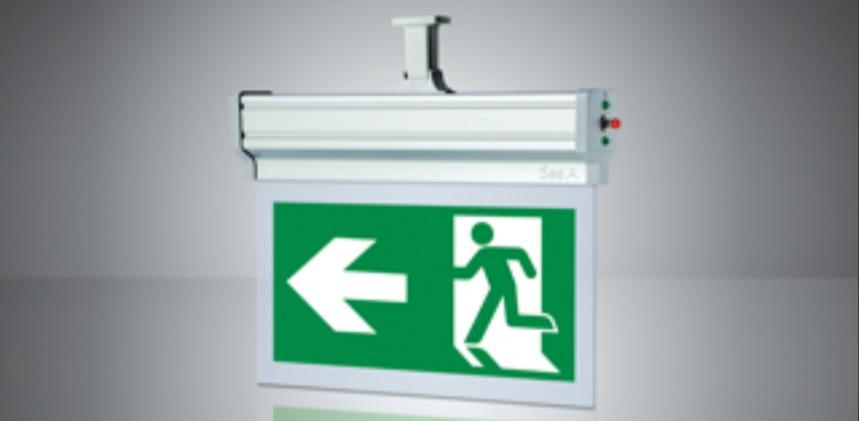 LED EMERGENCY EXIT LUMINAIRES PINA