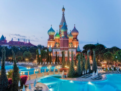 Antalya 7 Nights All Inclusive Vacation at WOW / Asteria Kremlin Palace  - For Couple