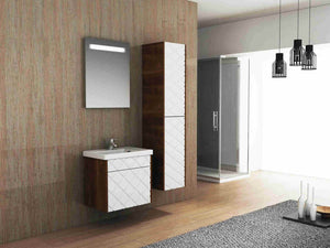 bathroom cabinet with mirror