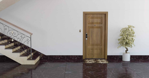 Wooden Flat Entrance Door