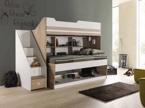 compact bunk bed