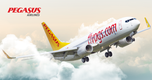 300$ Gift Card From Pegasus Airlines