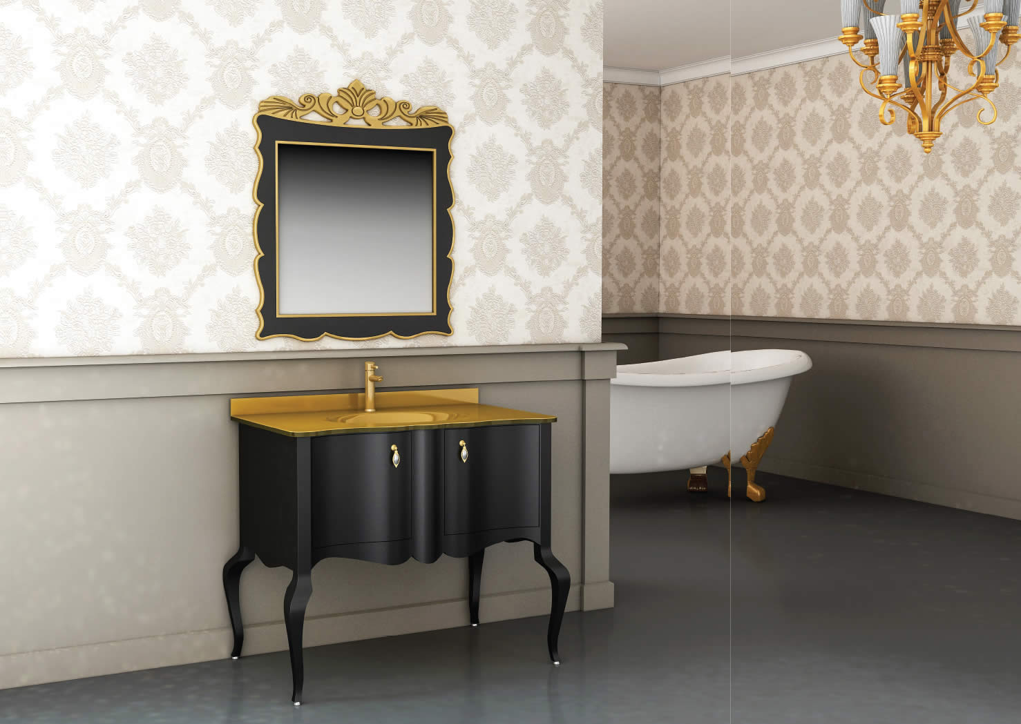 Beau Load Image Into Gallery Viewer, Bathroom Cabinet With Mirror ...