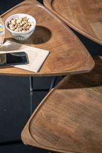 Woodline Collection - Service Table - Baffi Set