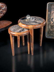 Woodline Collection - Table Set - Cuba