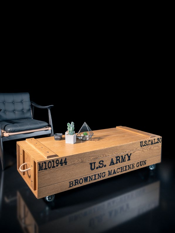 Woodline Collection - Center Table - Armory