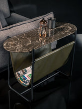 Load image into Gallery viewer, Rockline Collection - Marble Side Table - Dragon