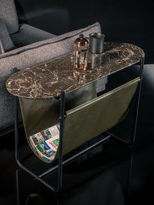 Rockline Collection - Marble Side Table - Dragon